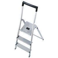 Hailo Platform Stepladder with Bucket Hook