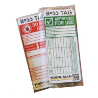 Youngman BoSS TAG Tower Inspection Recording System - Inserts (Single)