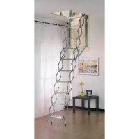 Dimes Pan Concertina Loft Ladders