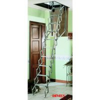 Dimes SAF Concertina Loft Ladders