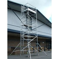 Lyte HiLyte Industrial Tower - Platform Size 2.5 x 0.85 m - 8.7 m Platform Height