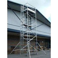 Lyte HiLyte Industrial Tower - Platform Size 2.5 x 0.85 m - 10.7 m Platform Height