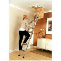 Youngman Easiway Aluminium Loft Ladder - 3 Section