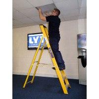 Lyte Heavy Duty Glassfibre Platform Stepladders - EN131 Professional