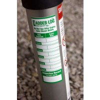 Ladderstore Ladder Log Safety Inspection Sticker  - Green (single)