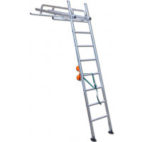 Heavy Duty Compact Conservatory Access Ladder for Cleaning & Maintenance