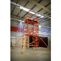 Lyte HiLyte GRP 500 Tower - 1.8 x 0.85 m Wide - 11.7m Platform Height