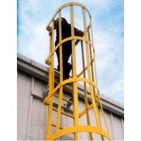 Fibreglass GRP Vertical Access Ladder With Hoops