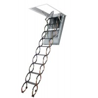 Fakro LSF Fire Resistant Scissor Style Loft Ladder With Hatch