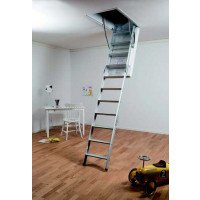 Midmade A1102 Aluminium Loft Ladder With Hatch