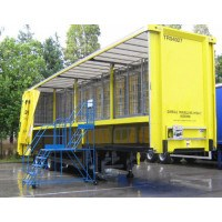 Mobile Double Decker Trailer Access Platform