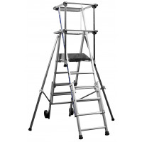 Zarges Sherpascopic Telescopic Work Platform Ladders