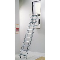 Pan Wall Opening Concertina Access Ladders