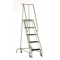 Steptek Stainless Steel Mobile Step - 5 Step