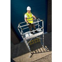 Zarges TT002 Teletower Telescopic Mobile Scaffold Tower - 2.0m