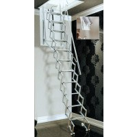 SAF-E Deluxe Electric Concertina Loft Ladders