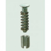 Mushroom Head Bolt & Spring Clip for Locking Bar