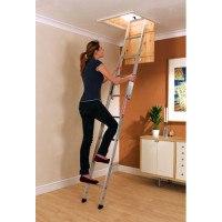 Youngman Spacemaker Aluminium Loft Ladder - 2 Section