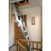 Superior Aluminium Loft Ladder - 2.54m