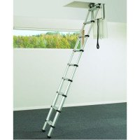 Telesteps 60324 Telescopic Loft Ladder for Small Hatch Sizes