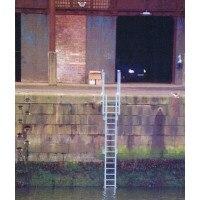 Fibreglass GRP Vertical Access Ladder with Walkthrough