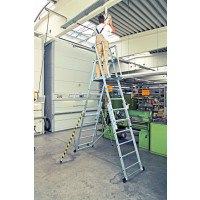 Zarges ZAP Telescopic Work Platform Ladders