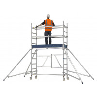 Zarges Reachmaster 3T Mobile Scaffold Tower - Platform Height 1.7 m