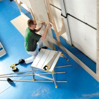 Youngman Odd Job 600 Hop-Up Work Platform with 600mm Square Platform