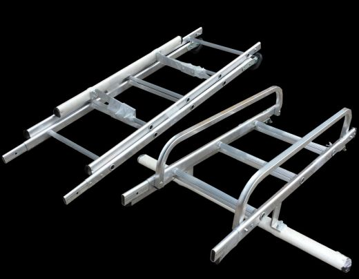Heavy Duty Compact Conservatory Access Ladder For Cleaning Maintenance