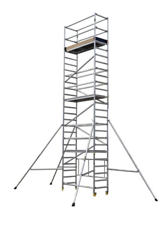 Minimax Set of Adjustable Legs Youngman Scaffold Towers