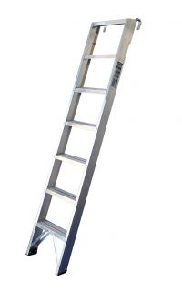 Wooden And Aluminium Shelf Ladders Ladderstore