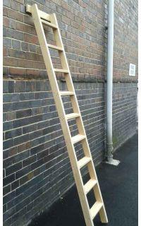 Timber Shelf Ladders 3 35m
