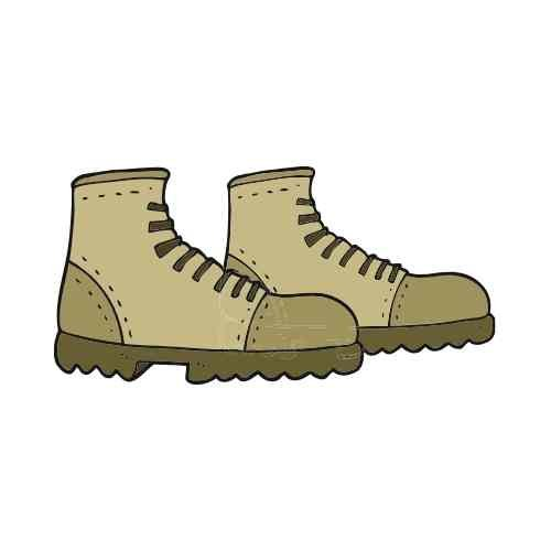 safety boots cartoon image