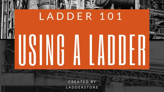 using a ladder blog post image