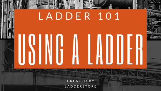 using a ladder blog post image