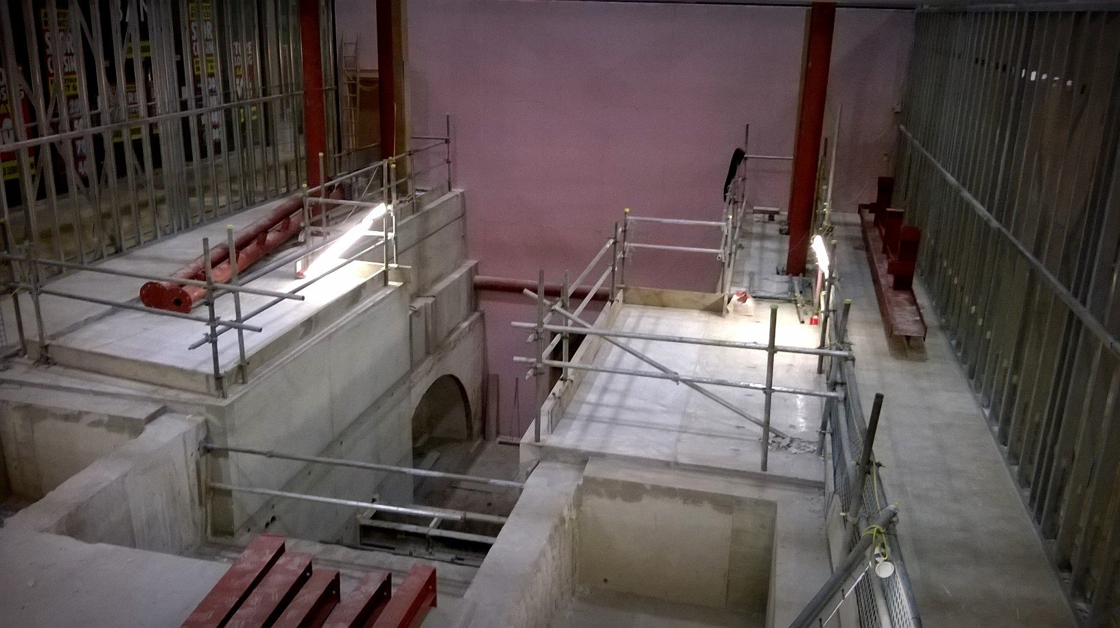 Bolton Vaults Construction