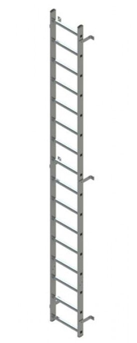 Vertical Ladder Without Cage