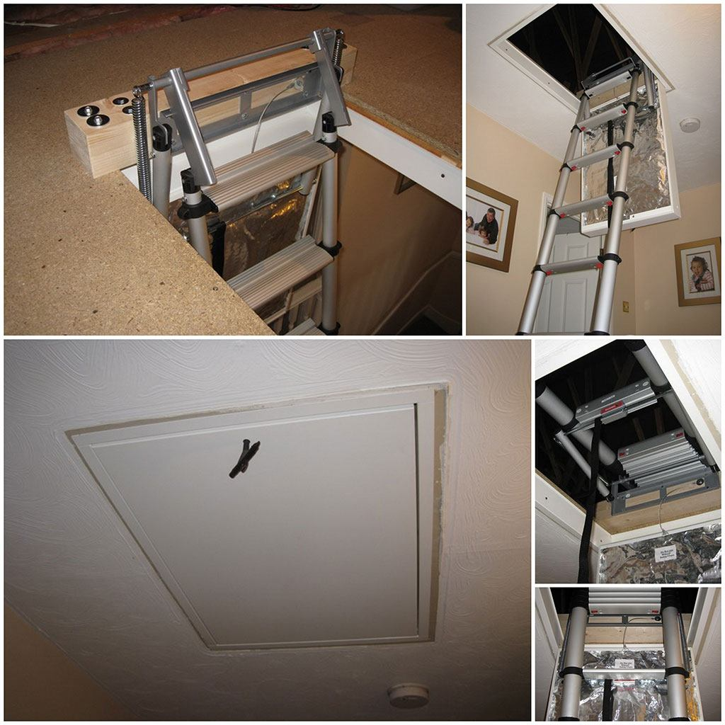 Gary's Telesteps 60324 loft ladder and made to measure loft hatch