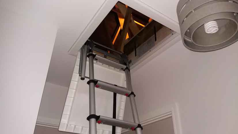 Telesteps telescopic loft ladder