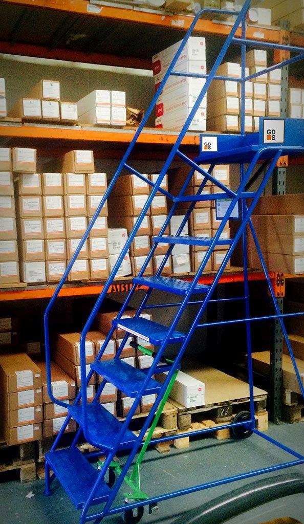 Klim-ezee warehouse step at GDS