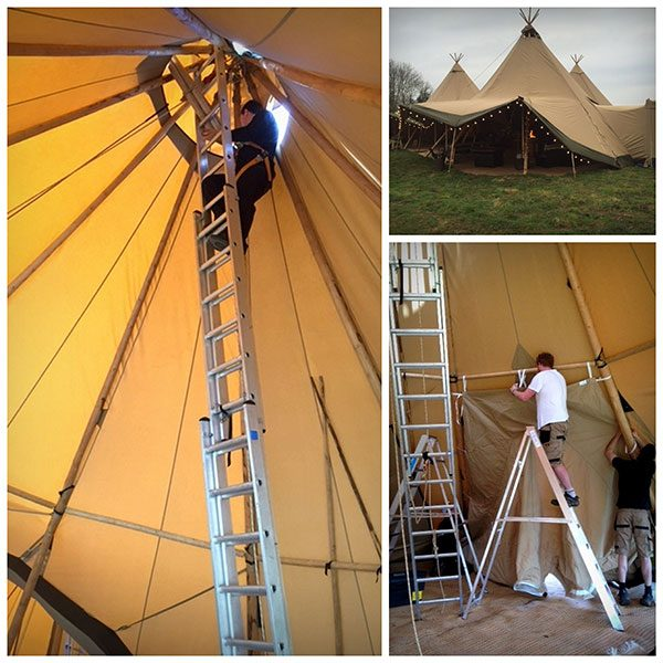 Magical Tipis Ladders