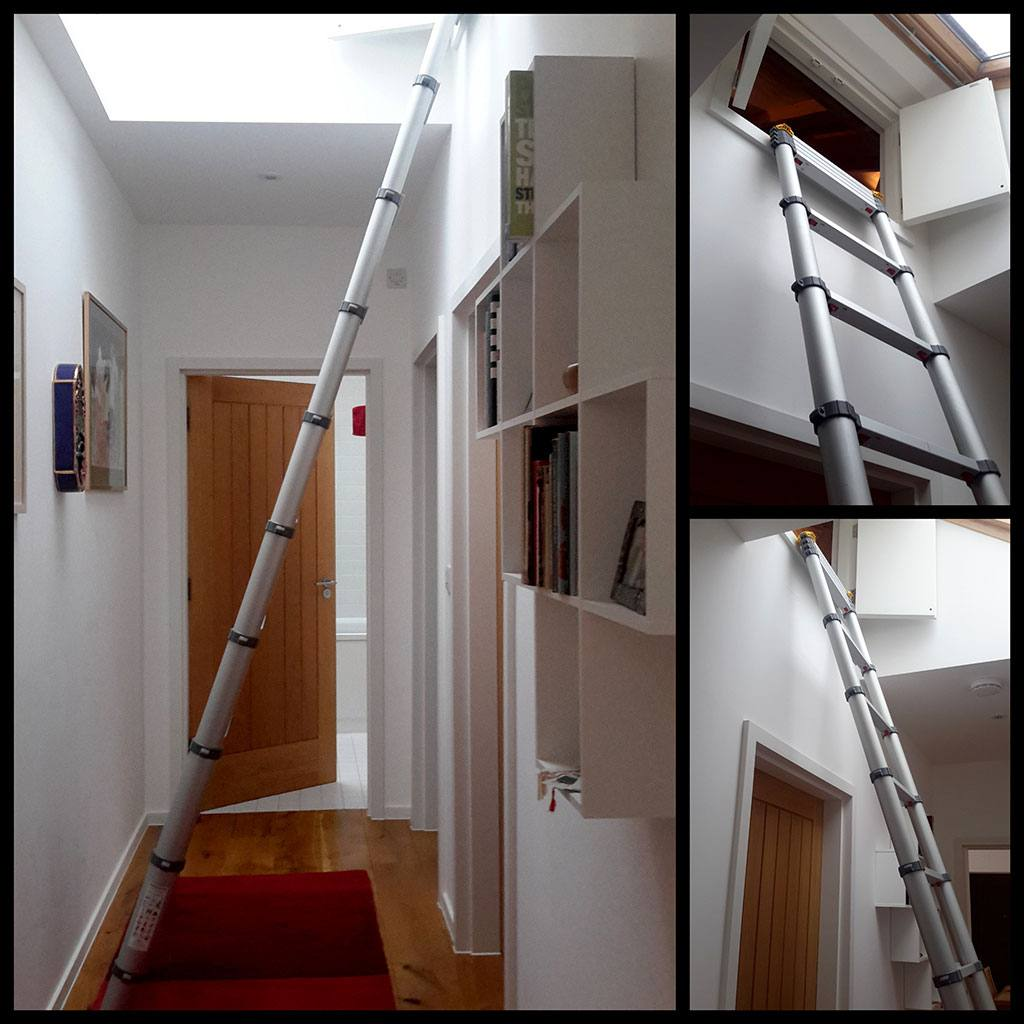 Telescopic Ladder in use